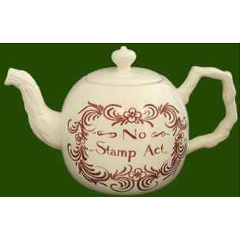 Leeds Pottery Creamware No Stamp Act Teapot Ebay