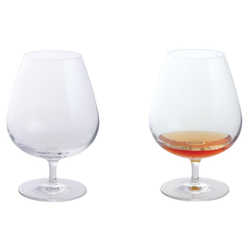 Dartington Crystal Wine Bar Brandy Glasses Pair New Ebay