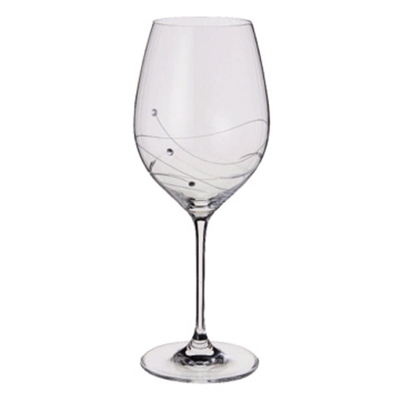 Glitz with swarovski elements goblet from dartington Unique wine glasses australia