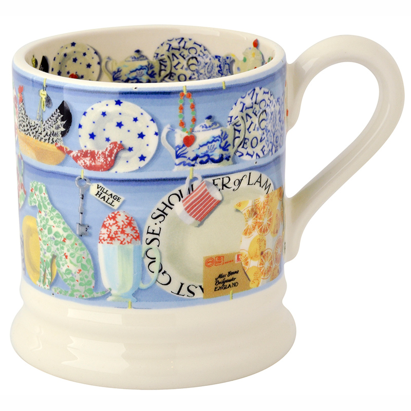 Dresser Half Pint Mug from Emma Bridgewater