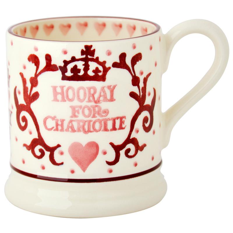 Emma Bridgewater Royal Baby Princess Charlotte 1/2 Pint
