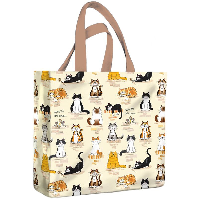 Custom shopping bags help your brand stand out against the competition. Choosing custom printed bags is a practical choice for your business and your customers: Customers can reuse the bags and when they do, they become walking billboards for your business.