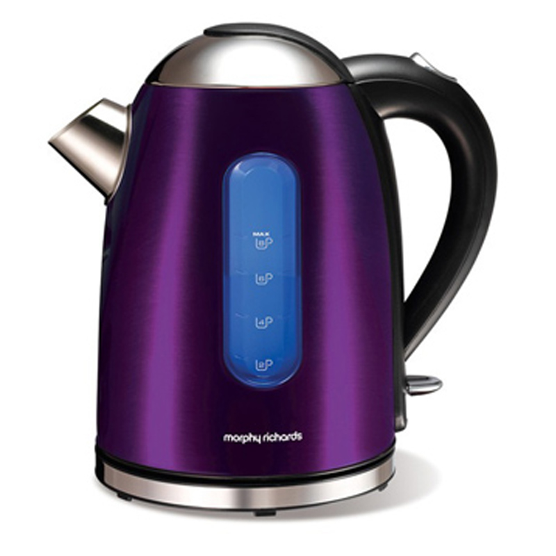 Morphy Richards Purple Coffee Maker : Morphy Richards Kitchen Accessories & Electrical Appliances Homewares Shop WWSM