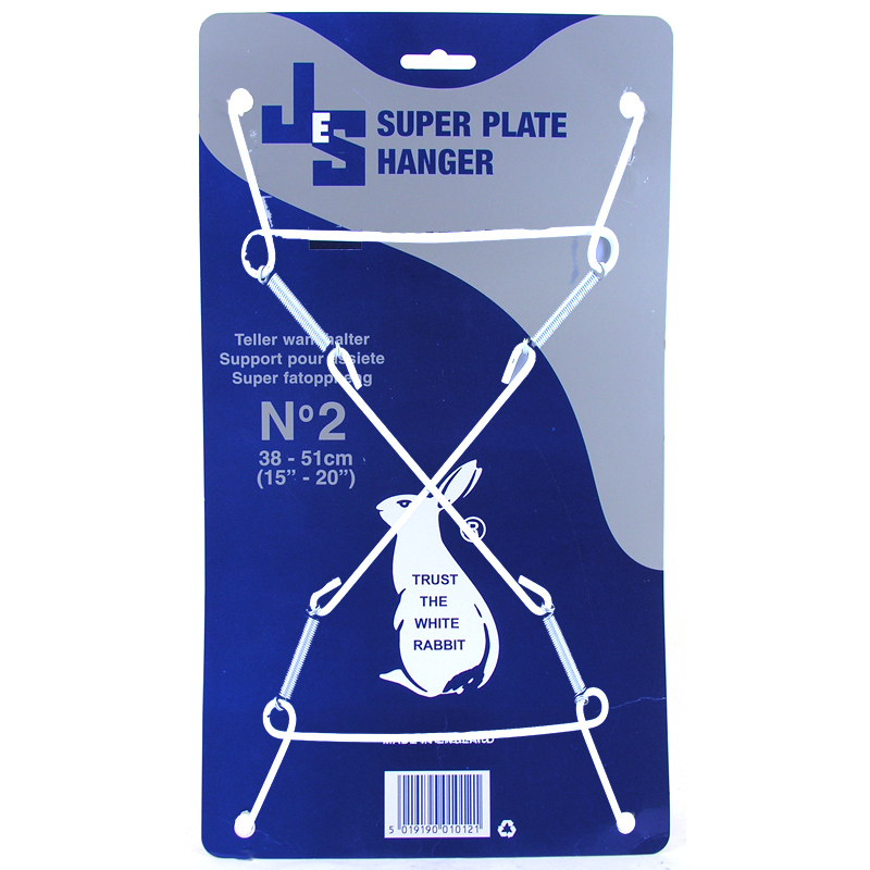 Size 2 for Plates 38cm-51cm  sc 1 st  World Wide Shopping Mall & Super Plate Hangers from JES | WWSM