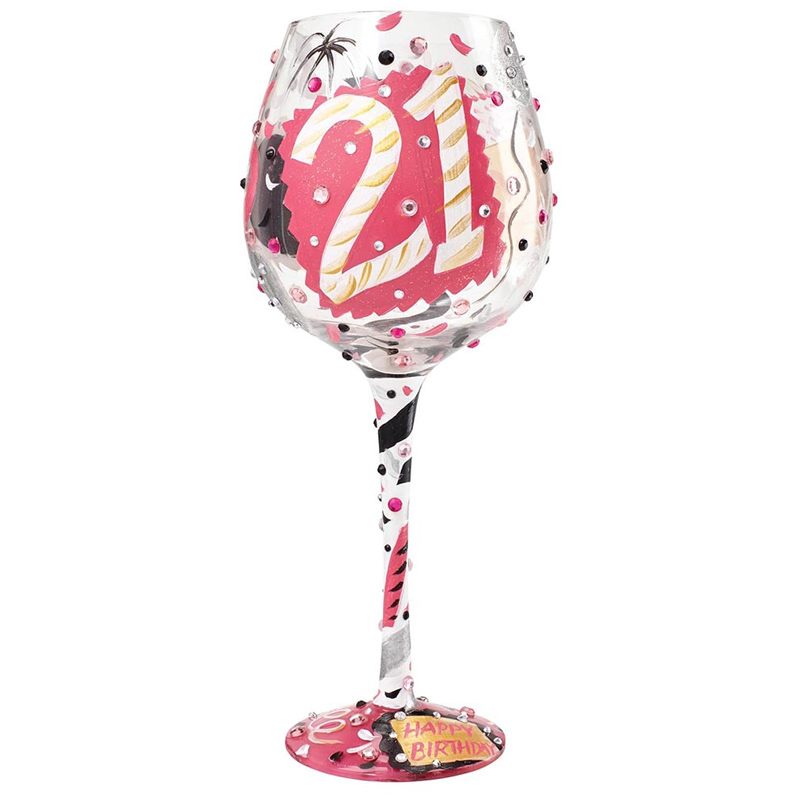 Superbling 21 extra large wine glass from enesco ltd wwsm Unique wine glasses australia