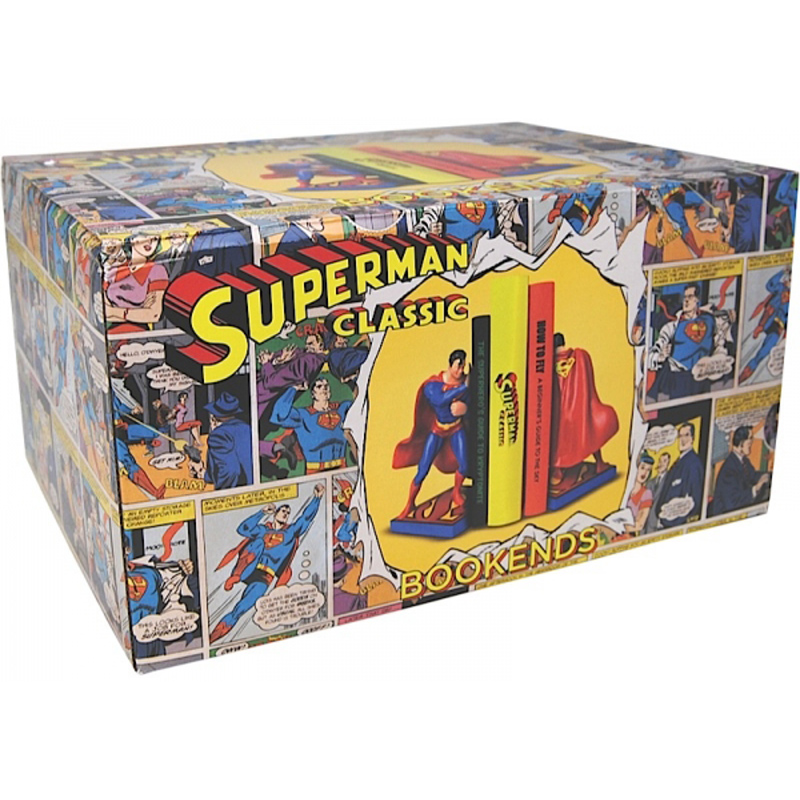 Superman Bookends New Ebay
