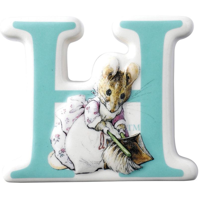 Beatrix Potter Alphabet Letter E