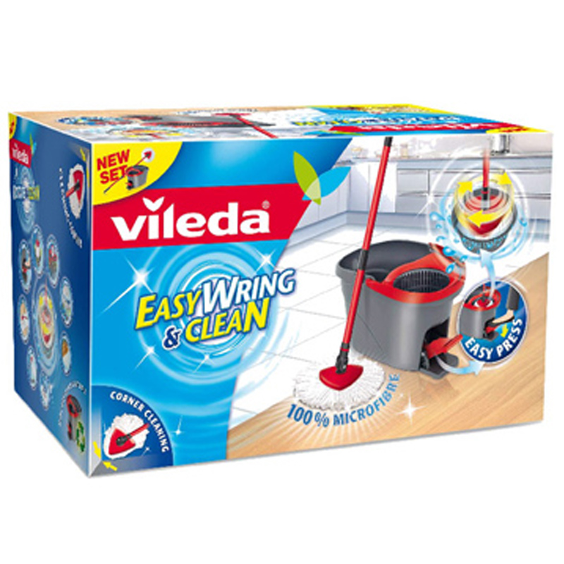 Vileda Microfibre Easy Wring Clean Mop Choose Either